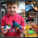 STEM activities in the library.