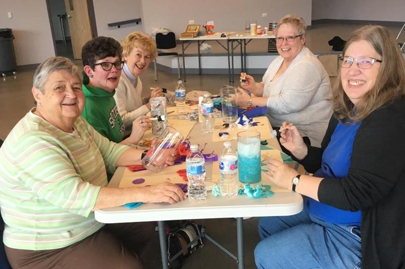 Community Ed. program hosts vase design class Thumbnail Image