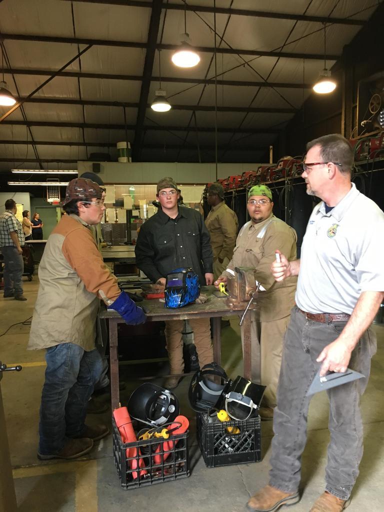 welding showdown