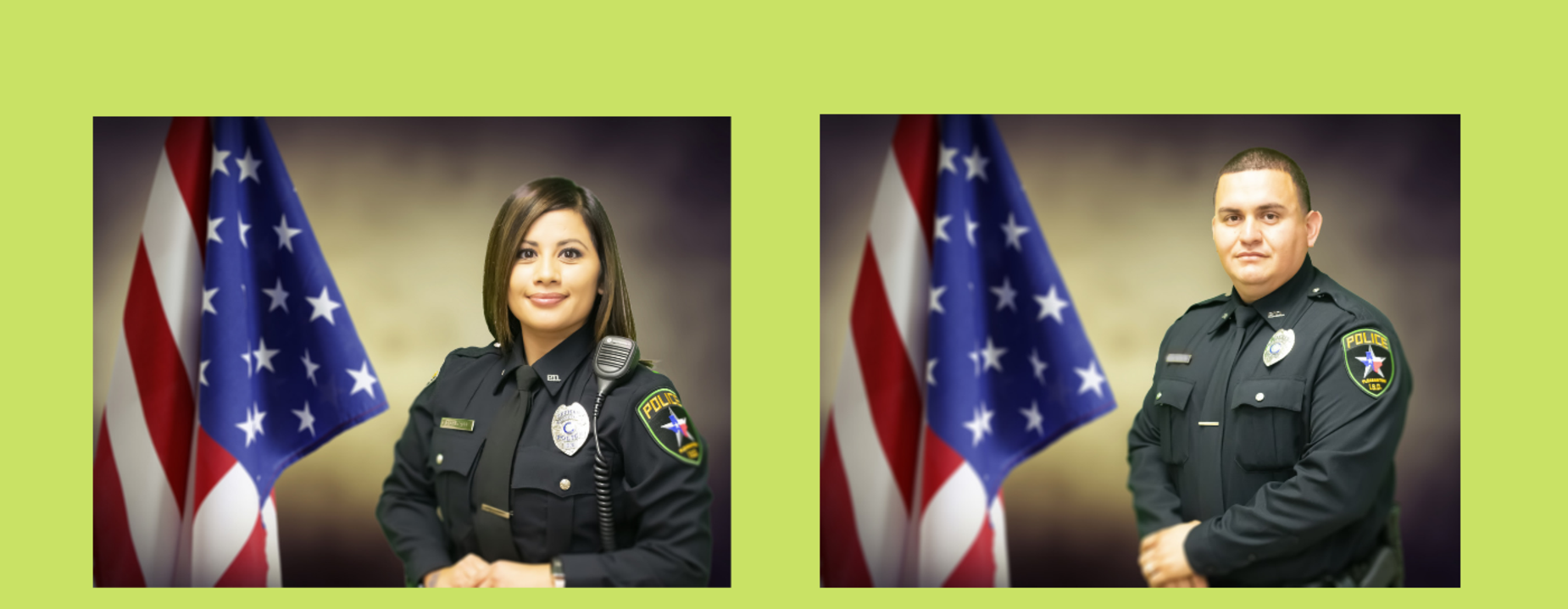 Officer Delgado and Officer Lozano