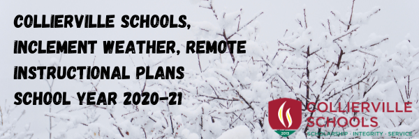Inclement Weather, School Remote Instructional Plans