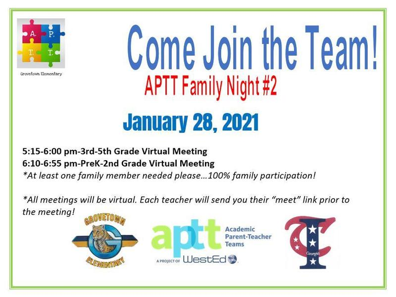 Please join us at our next APTT Meeting, January 28 Featured Photo
