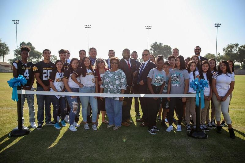 Lynwood Unified Celebrates New District Athletic Field with Ribbon-cutting Ceremony Featured Photo
