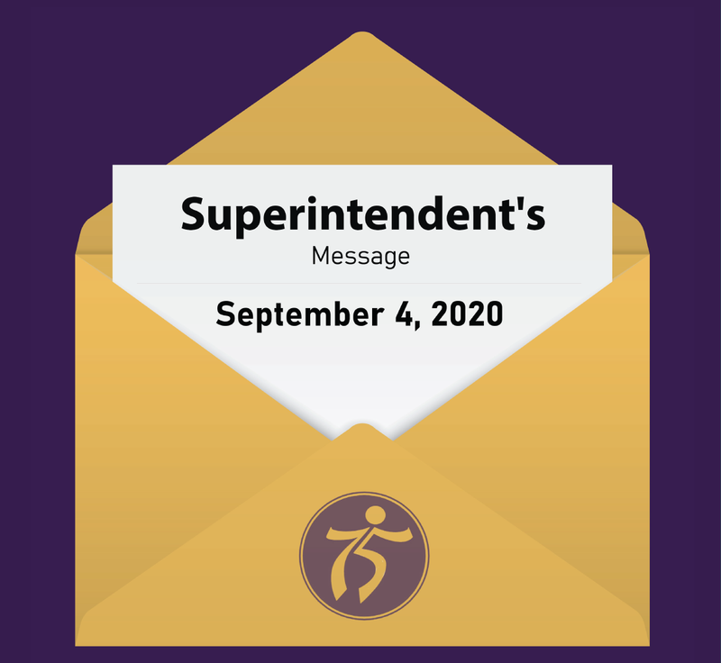Superintendent's Message Graphic