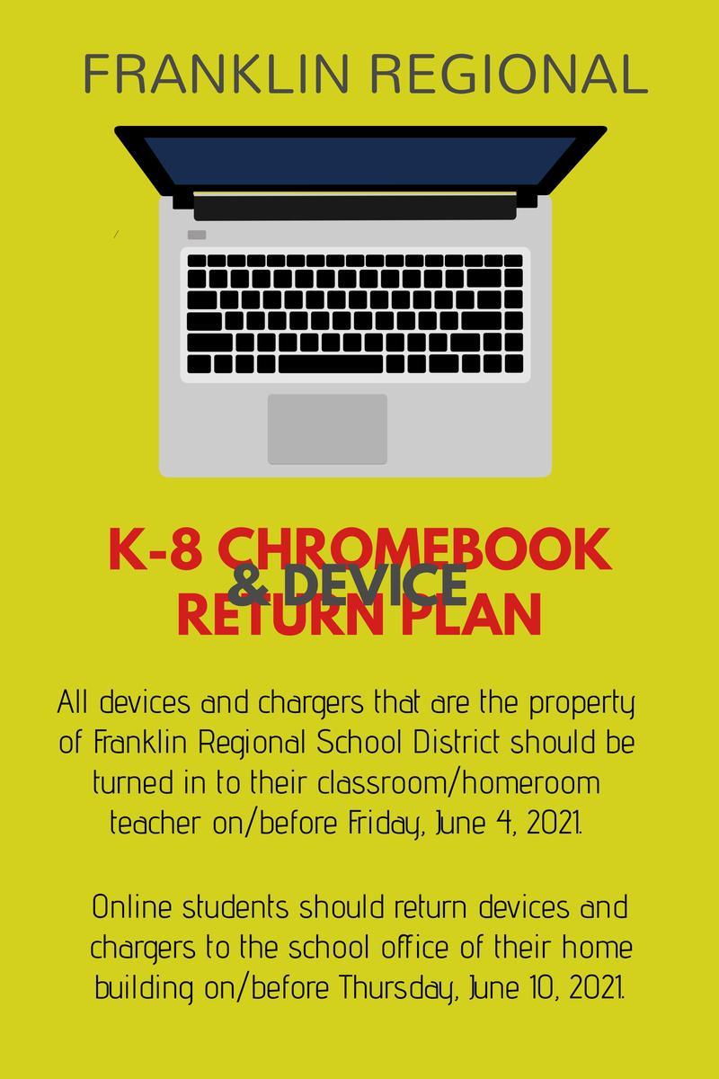 K-8 Chromebook Collection Plan
