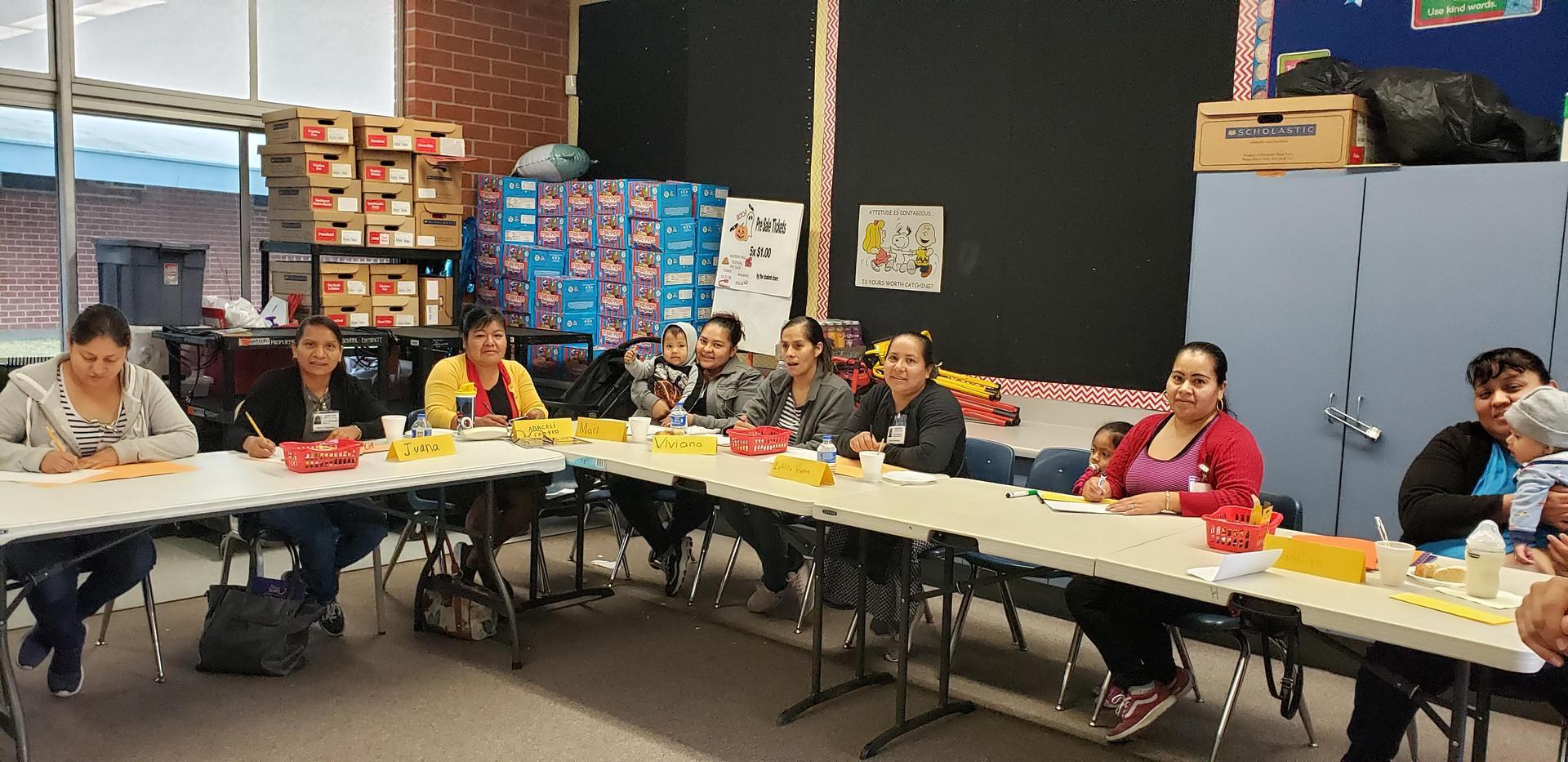 Hayden Latino Literacy Class