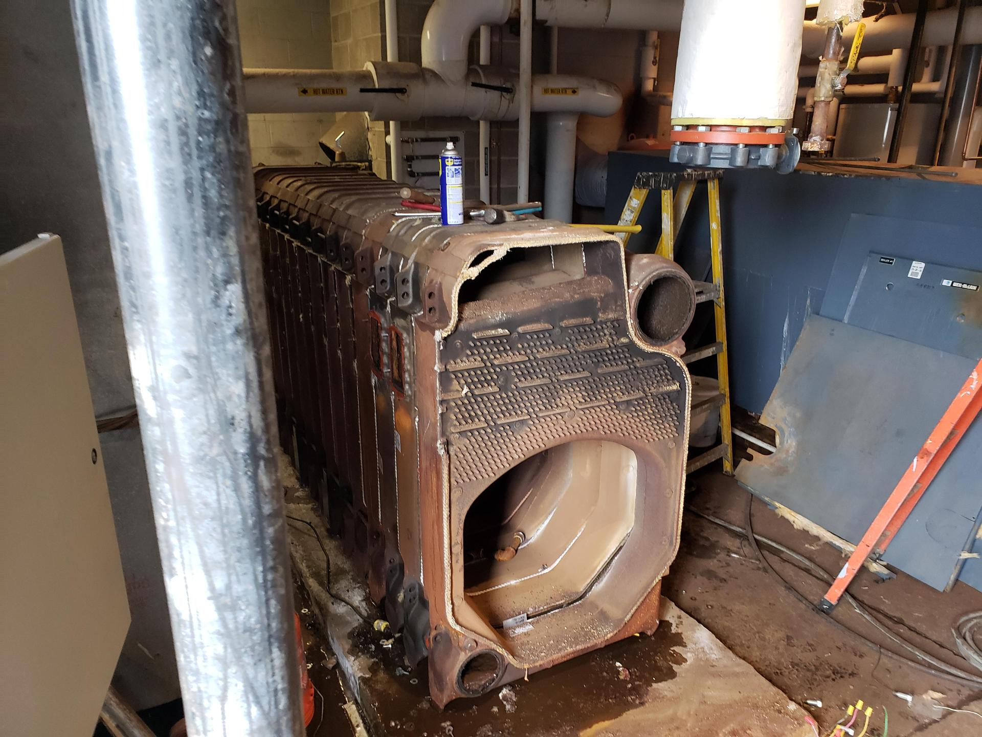 Boiler Replacement at the high school