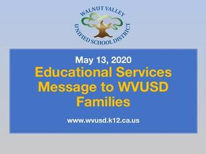 Ed Services Message May 13.jpg