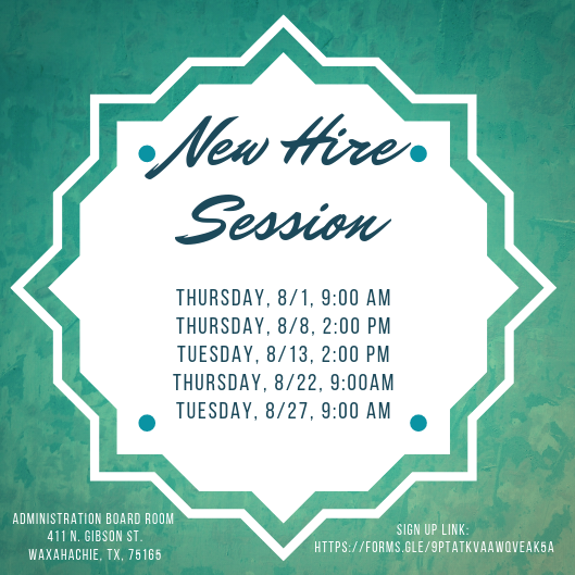 August new hire session