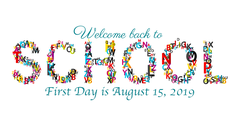 first day of school 8/15/19