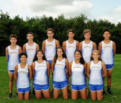 Sweetwater High School Cross Country Team of 2017/2018
