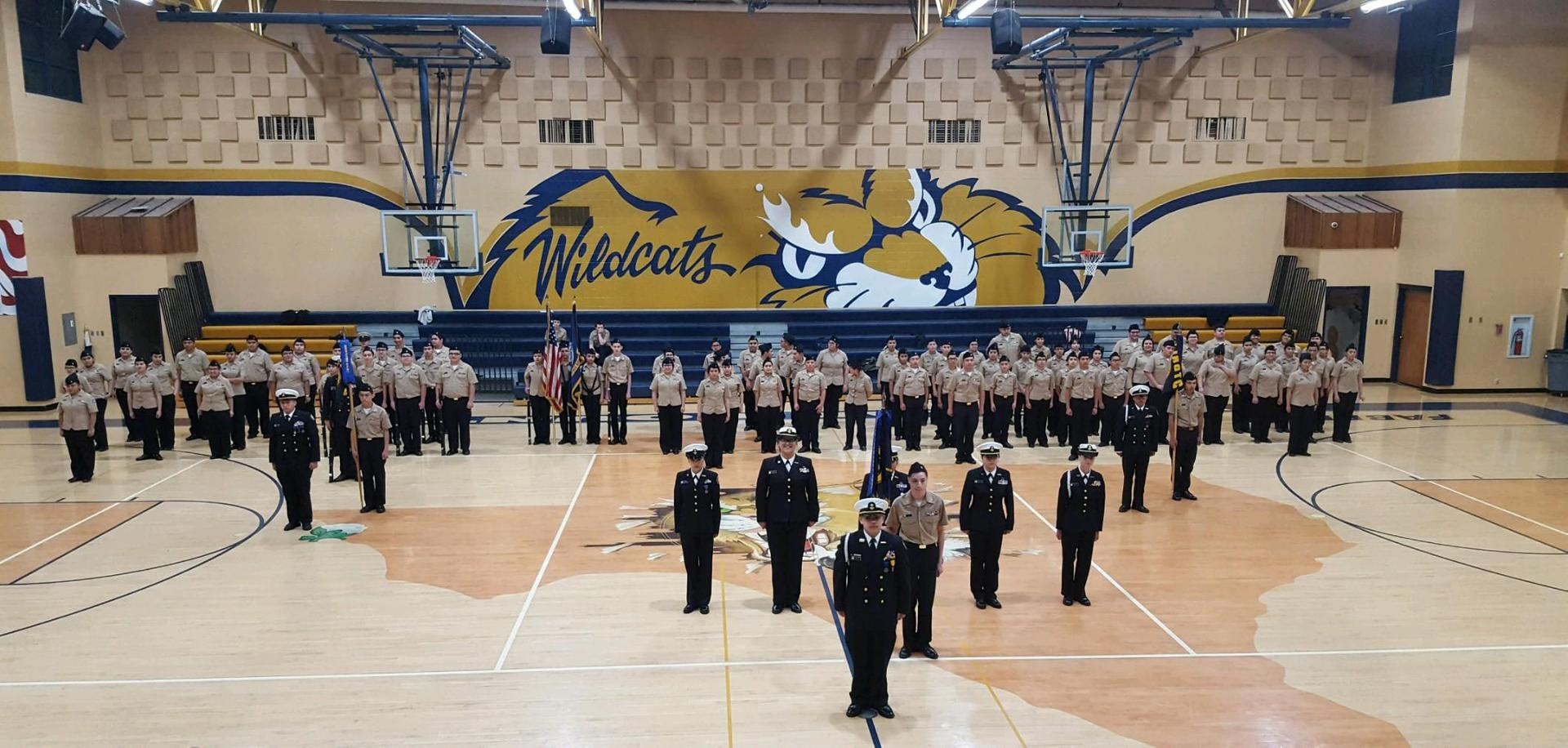 Fabens High School NJROTC Battalion Annual Navy Inspection