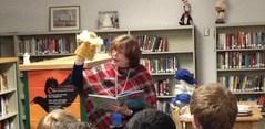 Mrs. Burnside's classes participating in Read Across America Week.