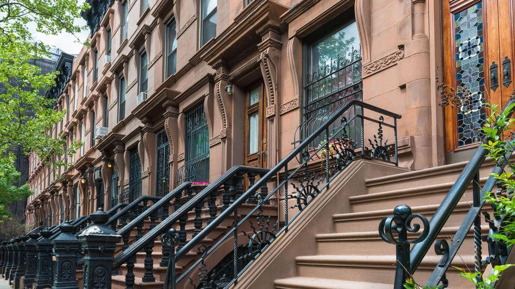 Row of Historic Brownstones