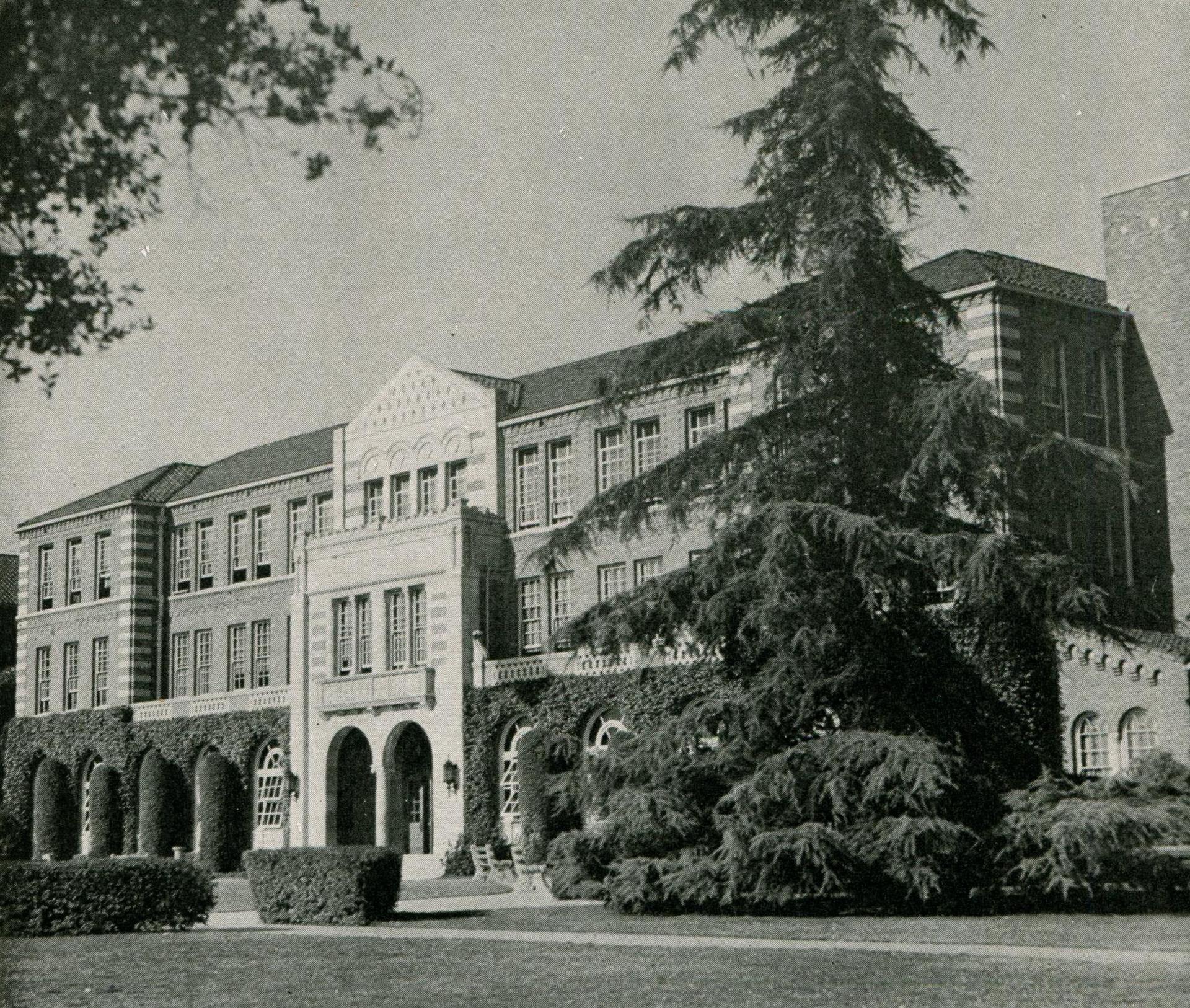 Beautiful entrance, 1947