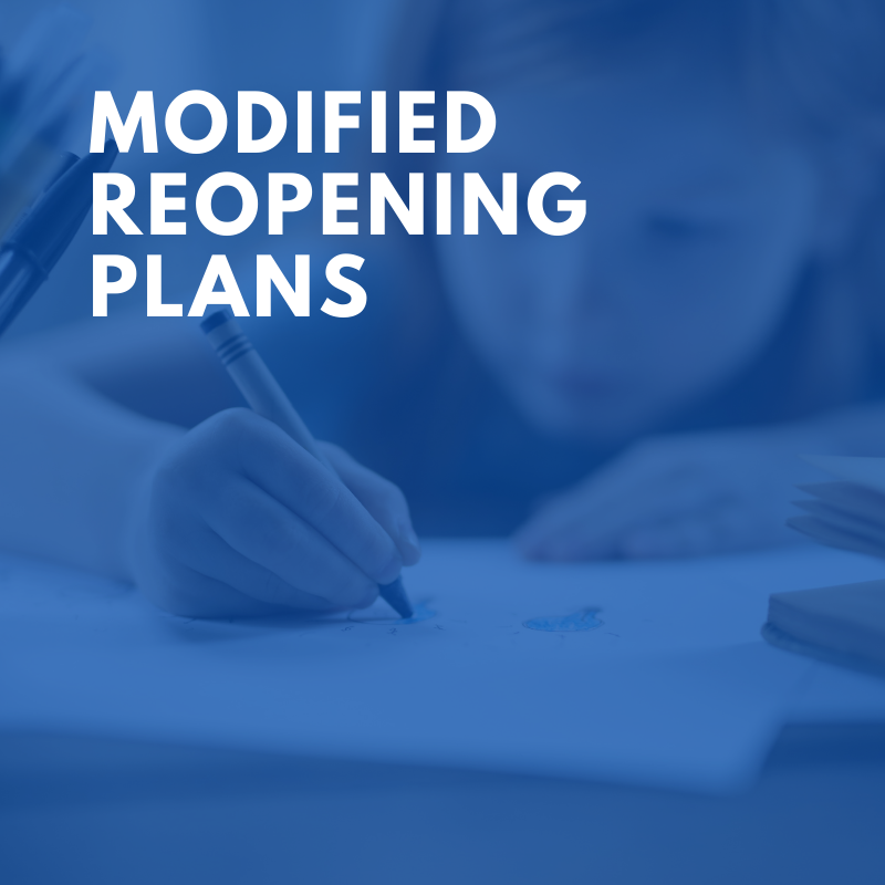 Modified Reopening Plans Featured Photo