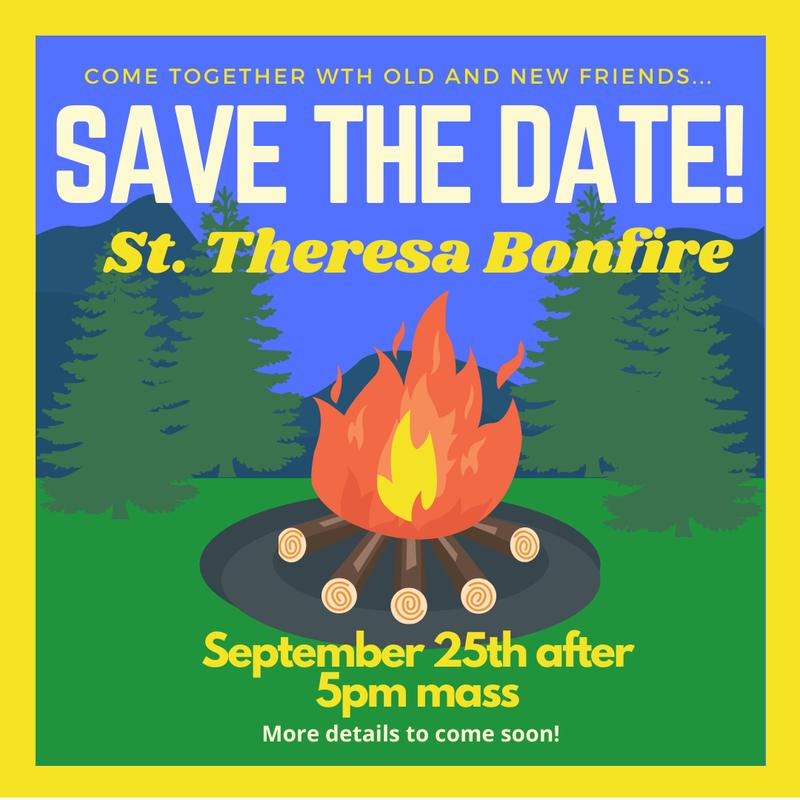 It's Back! The St. Theresa School & Parish Bonfire! Featured Photo