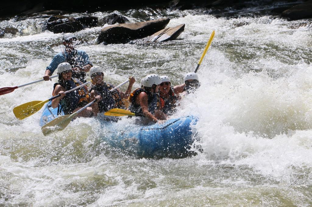MMS rafting