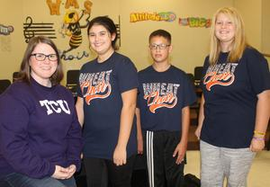 Wheat Middle School All-Region Choir Members