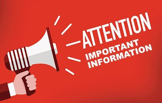 Important information from Tipton County Schools regarding social distancing and masks after fall break