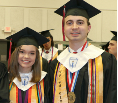 ARGYLE HIGH SCHOOL'S 2018 VALEDICTORIAN AND SALUTATORIAN Thumbnail Image