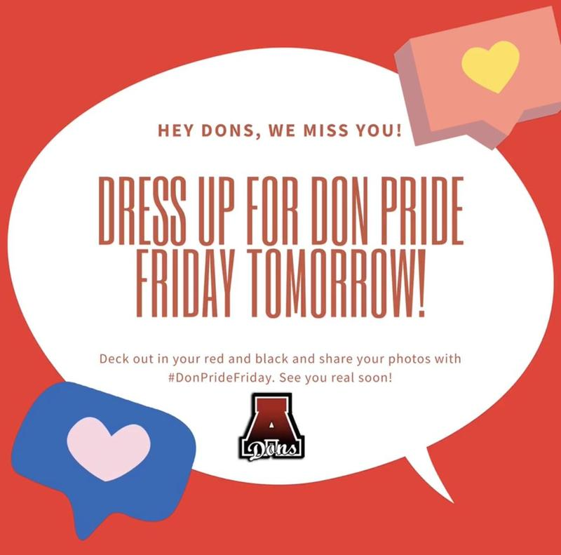 Don't Forget....tomorrow is Don Pride Friday Featured Photo