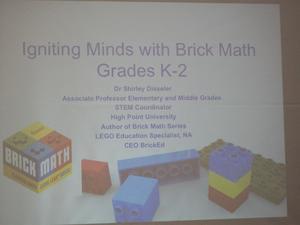 Dr. Disseler's slide show presentation.