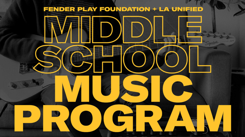 Fender Music Program- Learn to play bass, guitar, & ukulele! Featured Photo