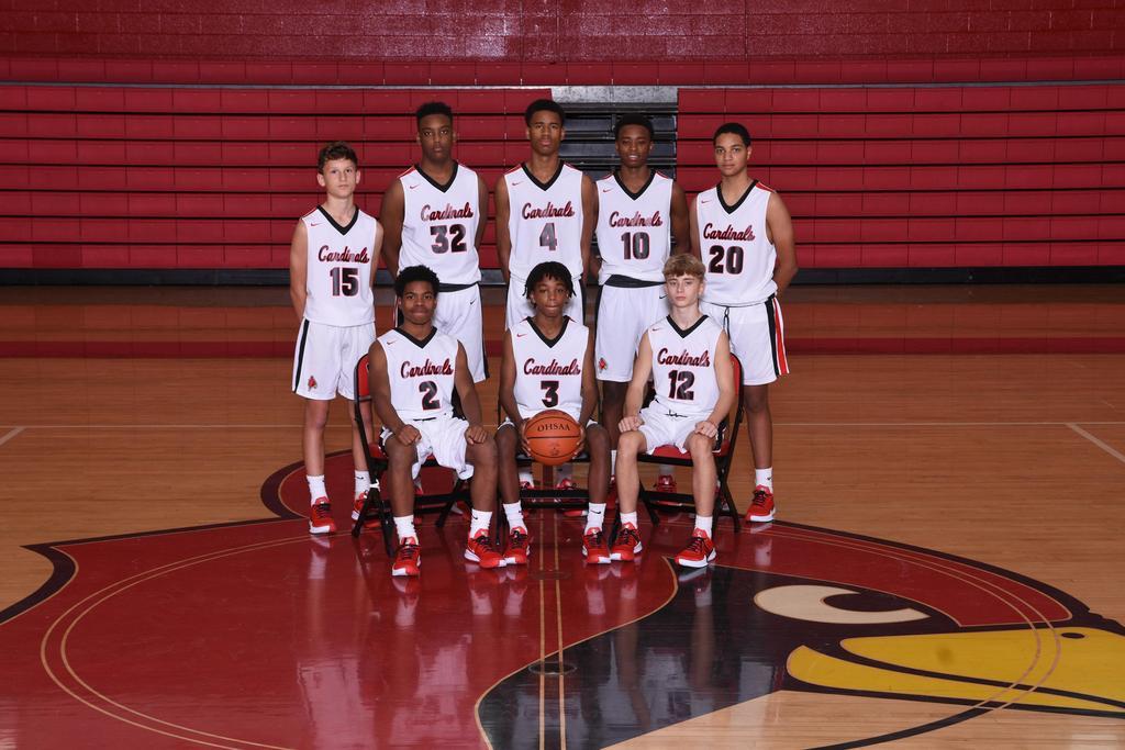 Junior Varsity 2019-2020 Varsity Basketball Team