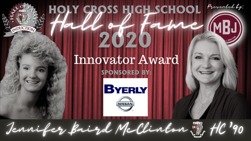 Hall of Fame Induction Week: 2020 Innovator Award- Jennifer Baird McClinton, HC'90 Featured Photo