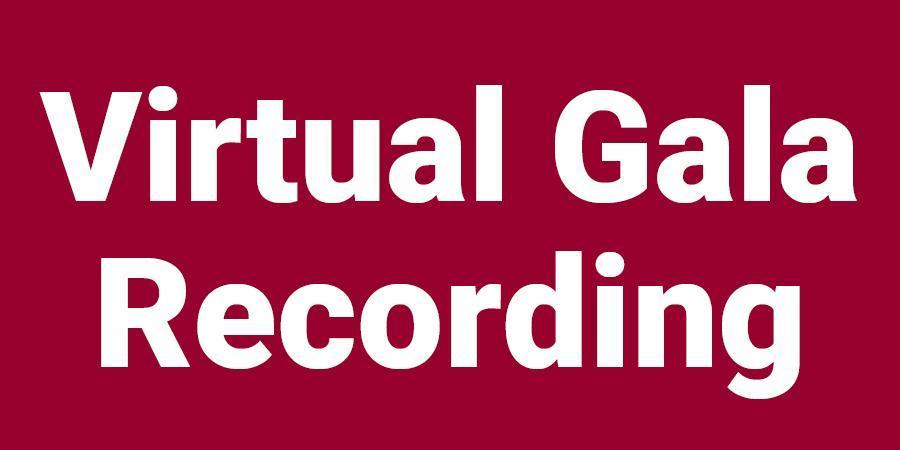 Virtual gala recording button