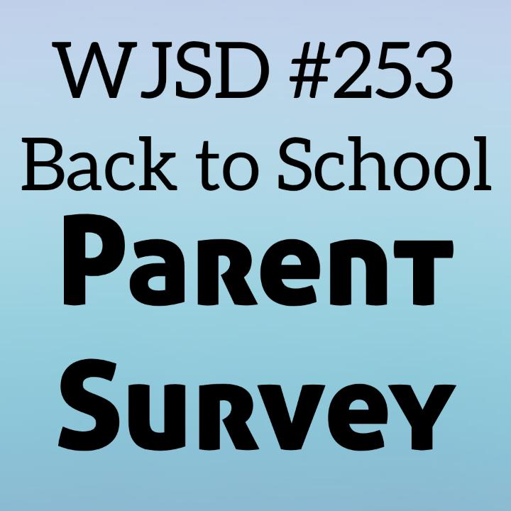 Back to School Survey