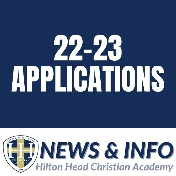 NEW STUDENT 22-23 APPLICATIONS NOW OPEN! Featured Photo