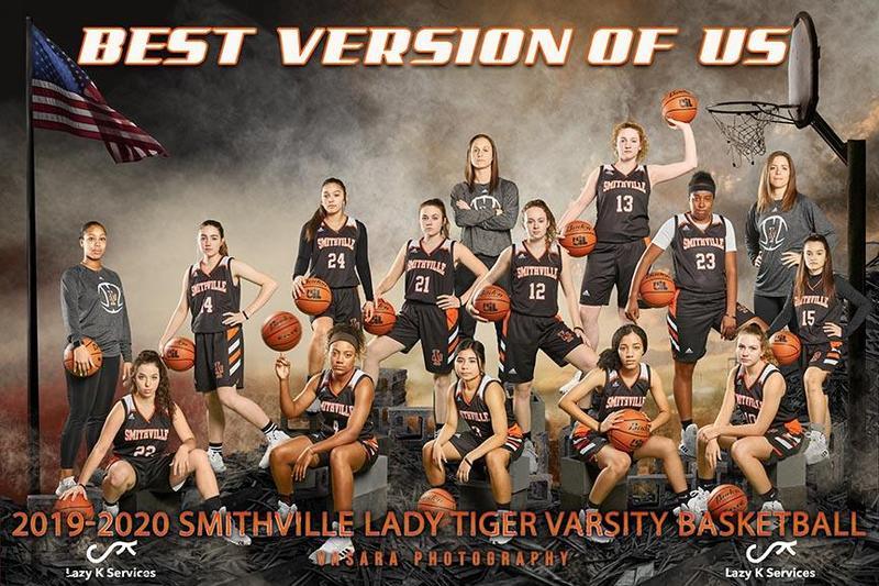 Lady Tiger Basketball Team