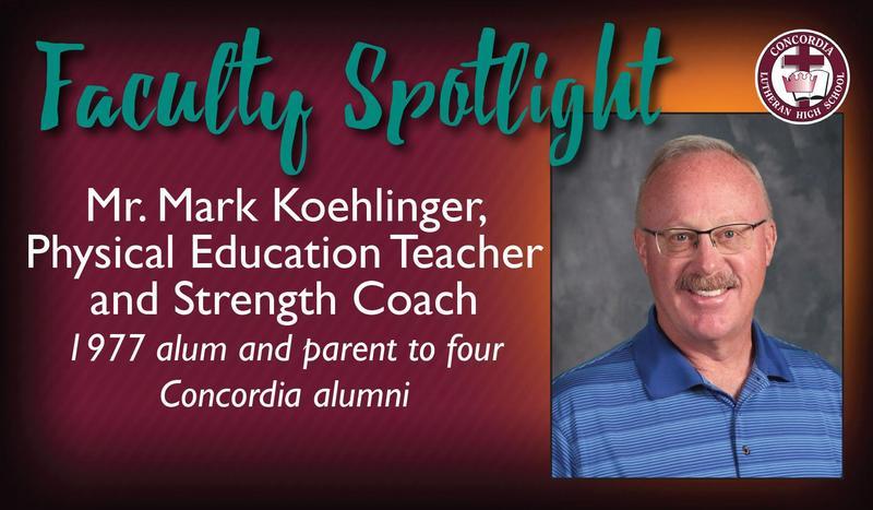 Faculty Spotlight: Mr. Mark Koehlinger Featured Photo