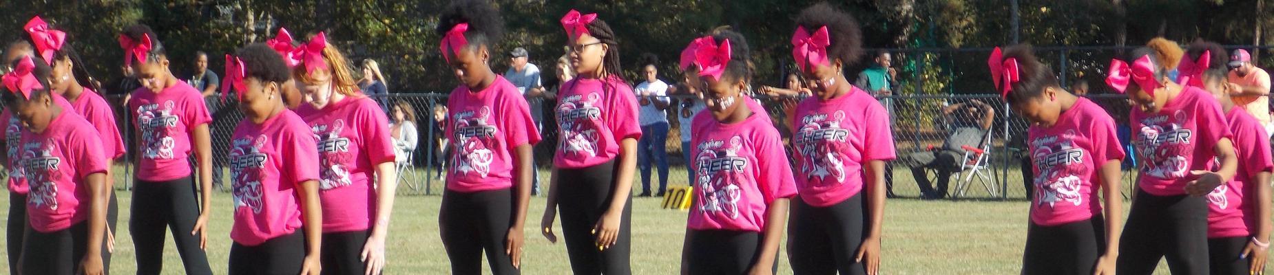 cheerleaders at NCMS