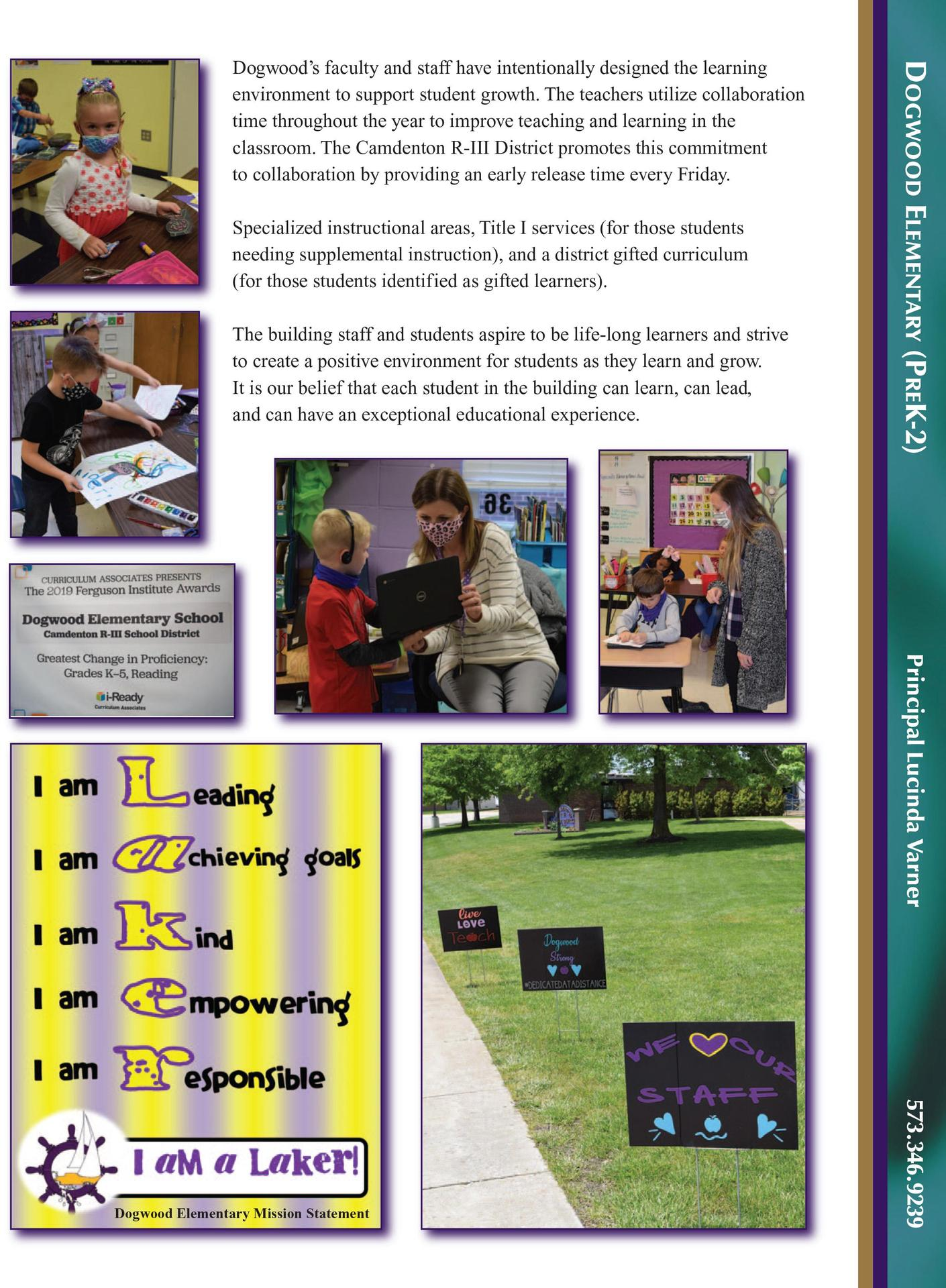 Dogwood Elementary Profile page 2