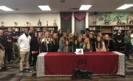 Kamryn Nobles signs to play soccer at Coastal Carolina University.