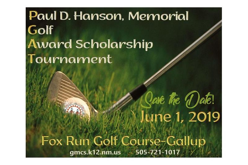 Save the date paul hanson golf tournament
