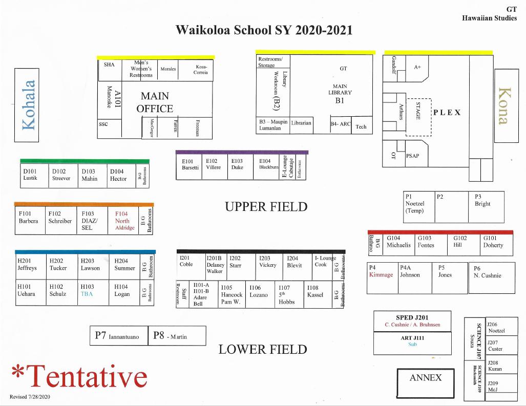 campus map 2020-21