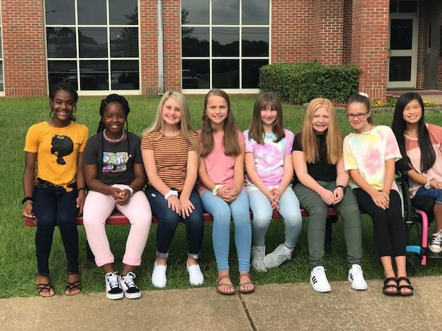 7th Grade Yearbook Staff