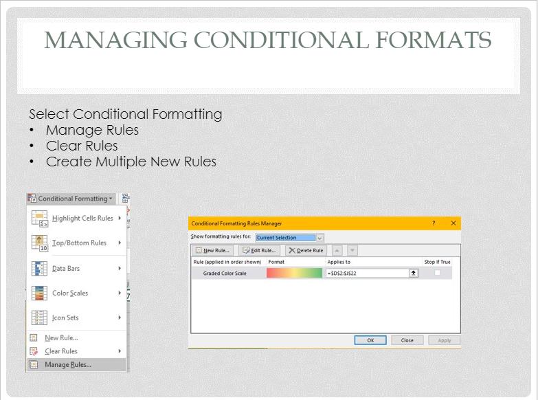 Managing CF