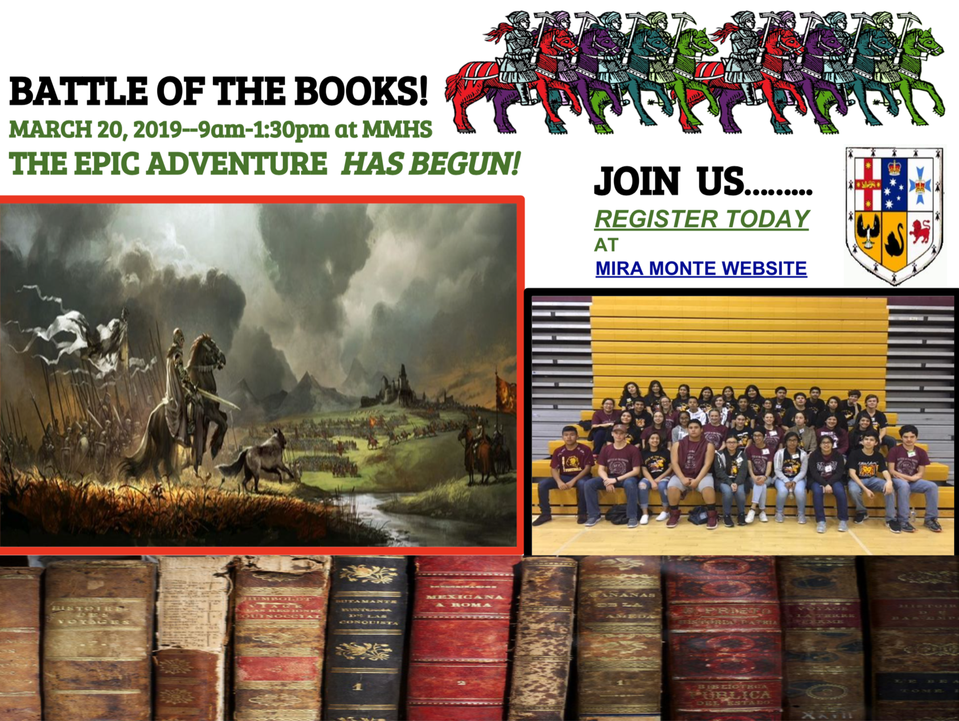 Battle of the Books Flyer
