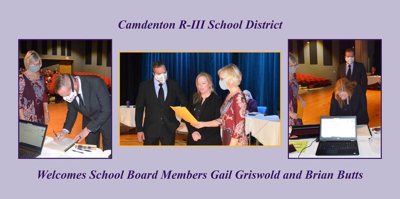 Camdenton R-III School District Welcomes School Board Members Featured Photo