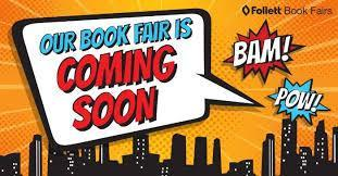 Our Book Fair is coming soon
