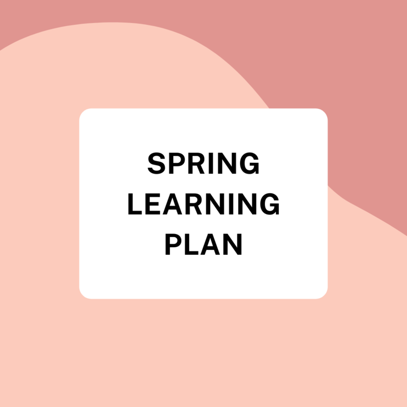 Spring Learning Plan Featured Photo