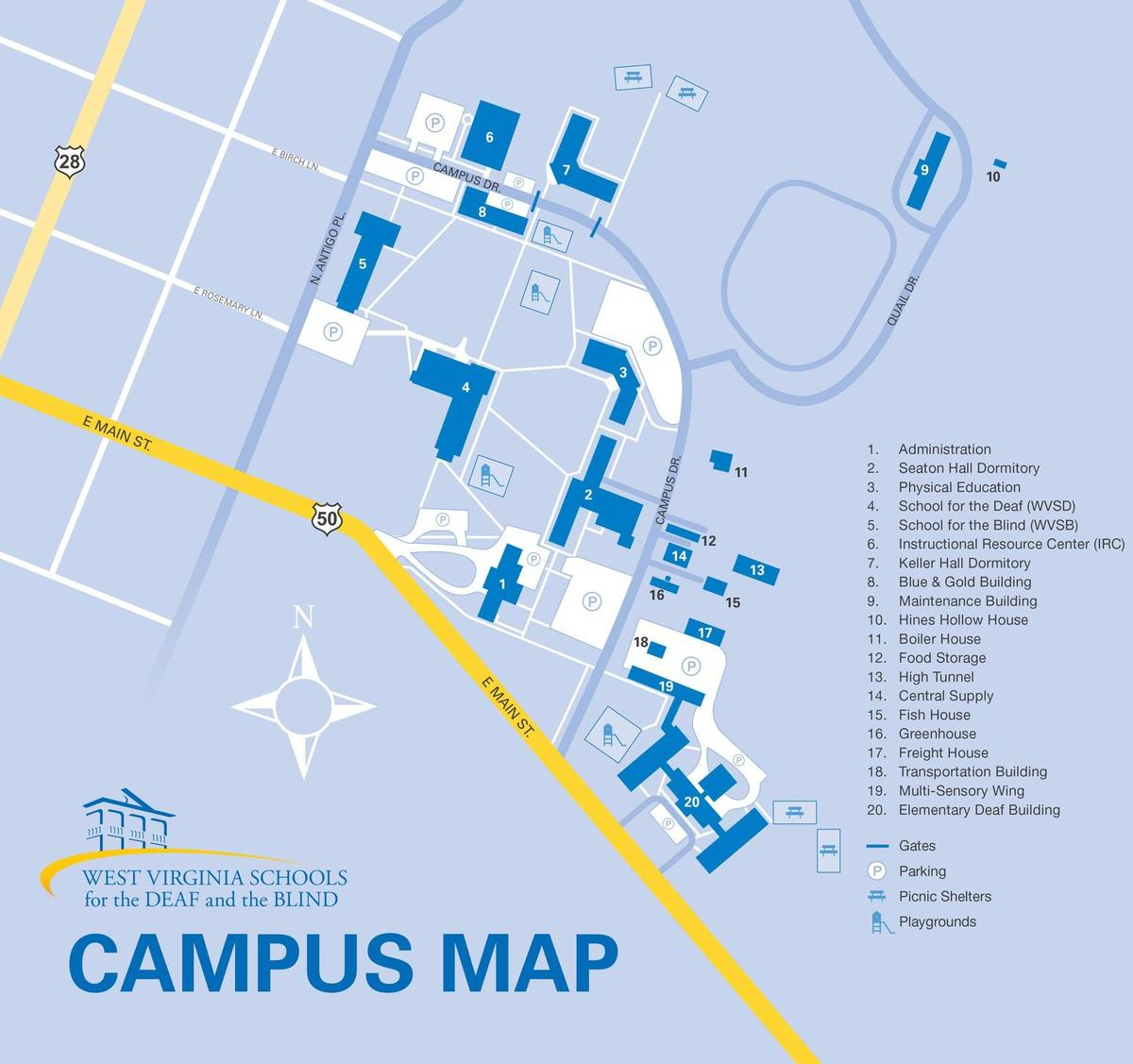 Picture of Campus Map