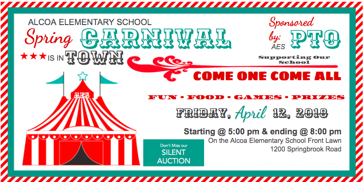 Spring Carnival April 12 5-8:00 p.m. Featured Photo