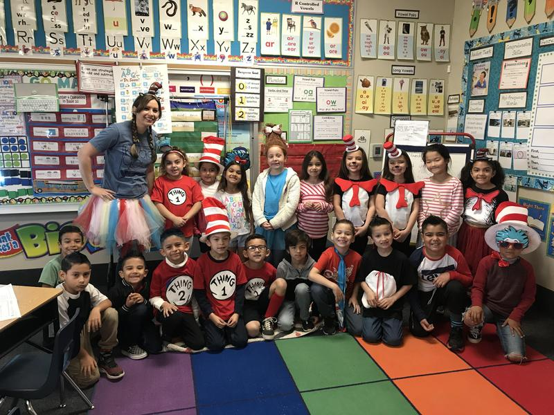 McCabe's TK-3rd Grade Students Celebrate Dr. Seuss! Thumbnail Image