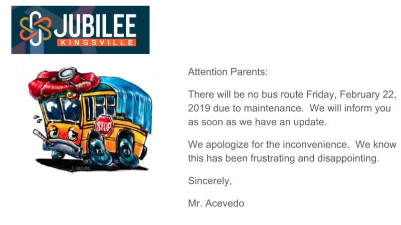 No bus route